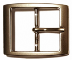 35mm Nickel Plated Belt Buckle. Code RE8
